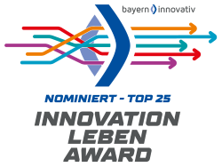 Innovation Live Award - envitron systems is among the the top 25 innovations