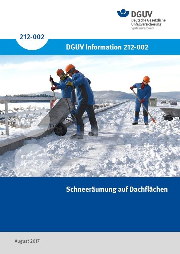 Schneeräumung auf Dachflächen